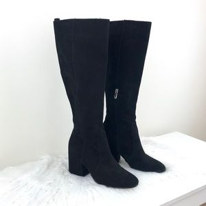 Sam Edelman Suede Thora Knee High Boot - 8